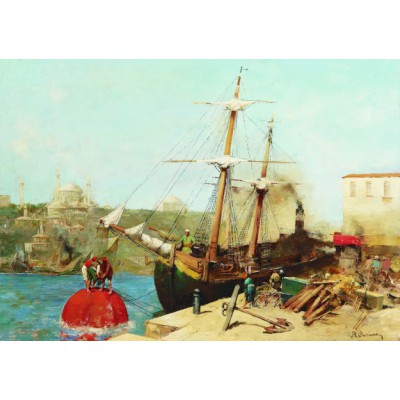 Puzzle Gold-Puzzle-60751 Alberto Pasini: By the Golden Horn