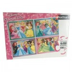 4 Puzzles - Disney Princess