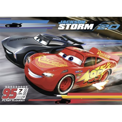 Puzzle Nathan-86605 Cars 3