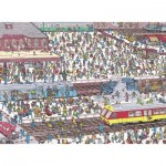 Puzzle  Nathan-87219 Wo ist Charlie? Am Bahnhof