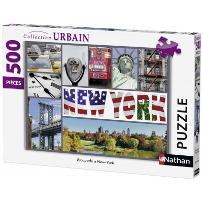 Puzzle Nathan-87229 Collage - New York