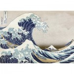 Puzzle  Nathan-87792 Hokusai: Die Welle