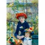Puzzle  Art-by-Bluebird-60050 Renoir - Two Sisters (On the Terrace), 1881