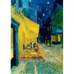 Puzzle  Art-by-Bluebird-Puzzle-60005 Vincent Van Gogh - Café Terrace at Night, 1888