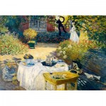 Puzzle  Art-by-Bluebird-Puzzle-60040 Claude Monet - The Lunch, 1873