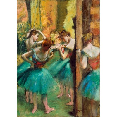 Puzzle Art-by-Bluebird-Puzzle-60047 Degas - Dancers, Pink and Green, 1890