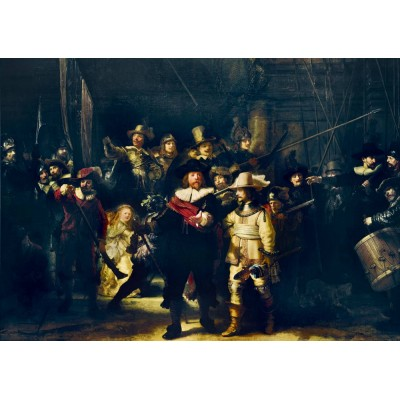 Puzzle Art-by-Bluebird-Puzzle-60078 Rembrandt - The Night Watch, 1642