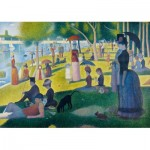 Puzzle  Art-by-Bluebird-Puzzle-60086 Georges Seurat - A Sunday Afternoon on the Island of La Grande Jatte, 1886