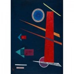 Puzzle  Art-by-Bluebird-Puzzle-60127 Vassily Kandinsky - Powerful Red, 1928