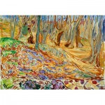 Puzzle  Art-by-Bluebird-Puzzle-60130 Edvard Munch - Elm Forrest in Spring, 1923