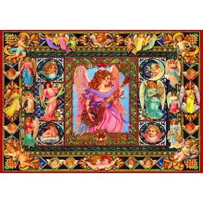 Puzzle Bluebird-Puzzle-70027 Antique Angels