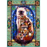 Puzzle  Bluebird-Puzzle-70154 Cats Galore