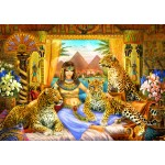 Puzzle  Bluebird-Puzzle-70198 Egyptian Queen of the Leopards