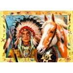 Puzzle  Bluebird-Puzzle-70284 Indian Chief