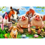 Puzzle  Bluebird-Puzzle-70285 Petting Farm