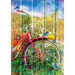Puzzle  Bluebird-Puzzle-70300-P Bluebirds on a Bicycle