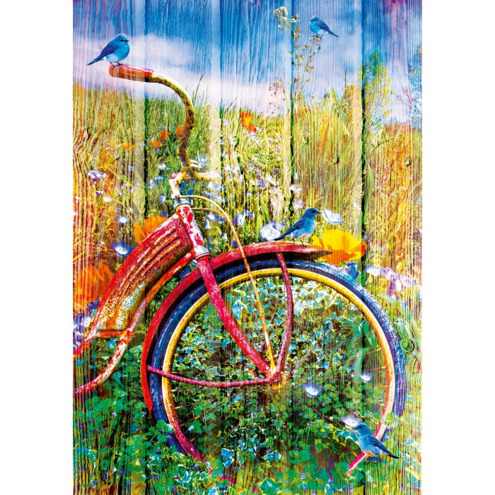 Bluebirds on a Bicycle