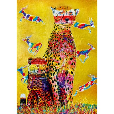 Puzzle Bluebird-Puzzle-70301-P African Watch