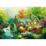 Puzzle  Bluebird-Puzzle-70303-P Country Retreat