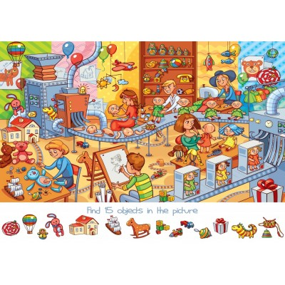 Puzzle Bluebird-Puzzle-70350 Search and Find - The Toy Factory