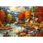Puzzle  Bluebird-Puzzle-70408 Treasures of the Great Outdoors
