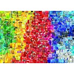Puzzle  Bluebird-Puzzle-70484 Coloured Things