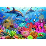 Puzzle   Dolphin Coral Reef