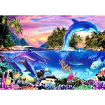 Puzzle   Dolphin Panorama