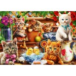 Puzzle   Kittens in the Potting Shed