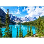 Puzzle   Moraine Lake in Banff National Park