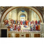 Puzzle   Raphael - The School of Athens, 1511