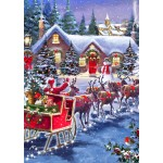 Puzzle   Santa And Sleigh