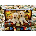 Puzzle   Two Travel Puppies