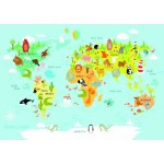Puzzle   World Map for Kids