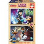 2 Holzpuzzles - Disney Junior