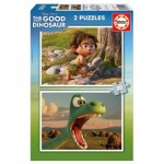 2 Puzzles - Disney Pixar - The Good Dinosaur