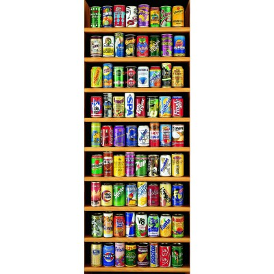 Puzzle Educa-11053 Panorama Soft Cans