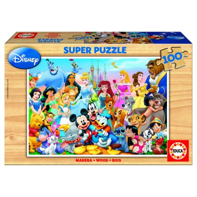 Puzzle Educa-12002 The wonderful World of Disney