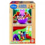 Puzzle  Educa-13467 Mickey Mouse Club House