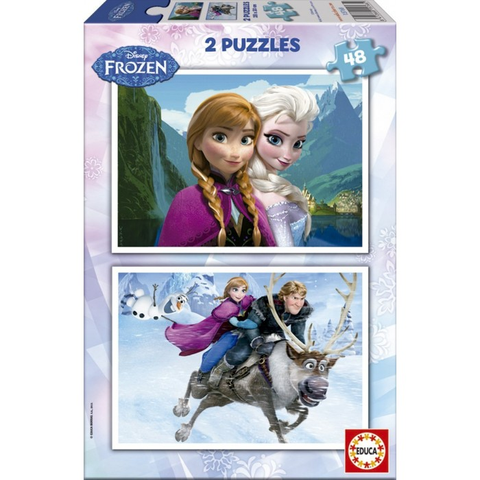 2 Puzzles - Disney Eiskönigin - Frozen