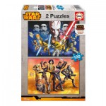 Educa-16169 2 Puzzles - Star Wars Rebels