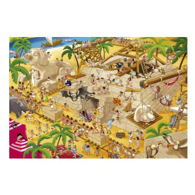 Puzzle Educa-16345 Stories of the History: Altes Ägypten