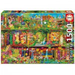 Puzzle  Educa-16766 Aimee Stewart: The Garden Shelf