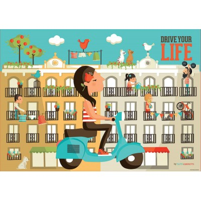 Puzzle Educa-17987 Drive Your Life