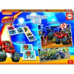 Puzzle   Superpack 4 in 1 - Blaze and The Monster Machines
