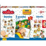 Puzzle   Superpack 4 in 1 - Caillou