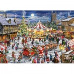 2 Puzzles - Christmas Carrousel