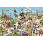 Puzzle  Jumbo-02086 Jan van Haasteren: Tour de France