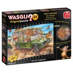 Puzzle  Jumbo-19164 Wasgij Original 31 - Safari Surprise