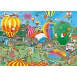 Puzzle  Jumbo-20024 Jan van Haasteren - Hooray, miffy 65 years